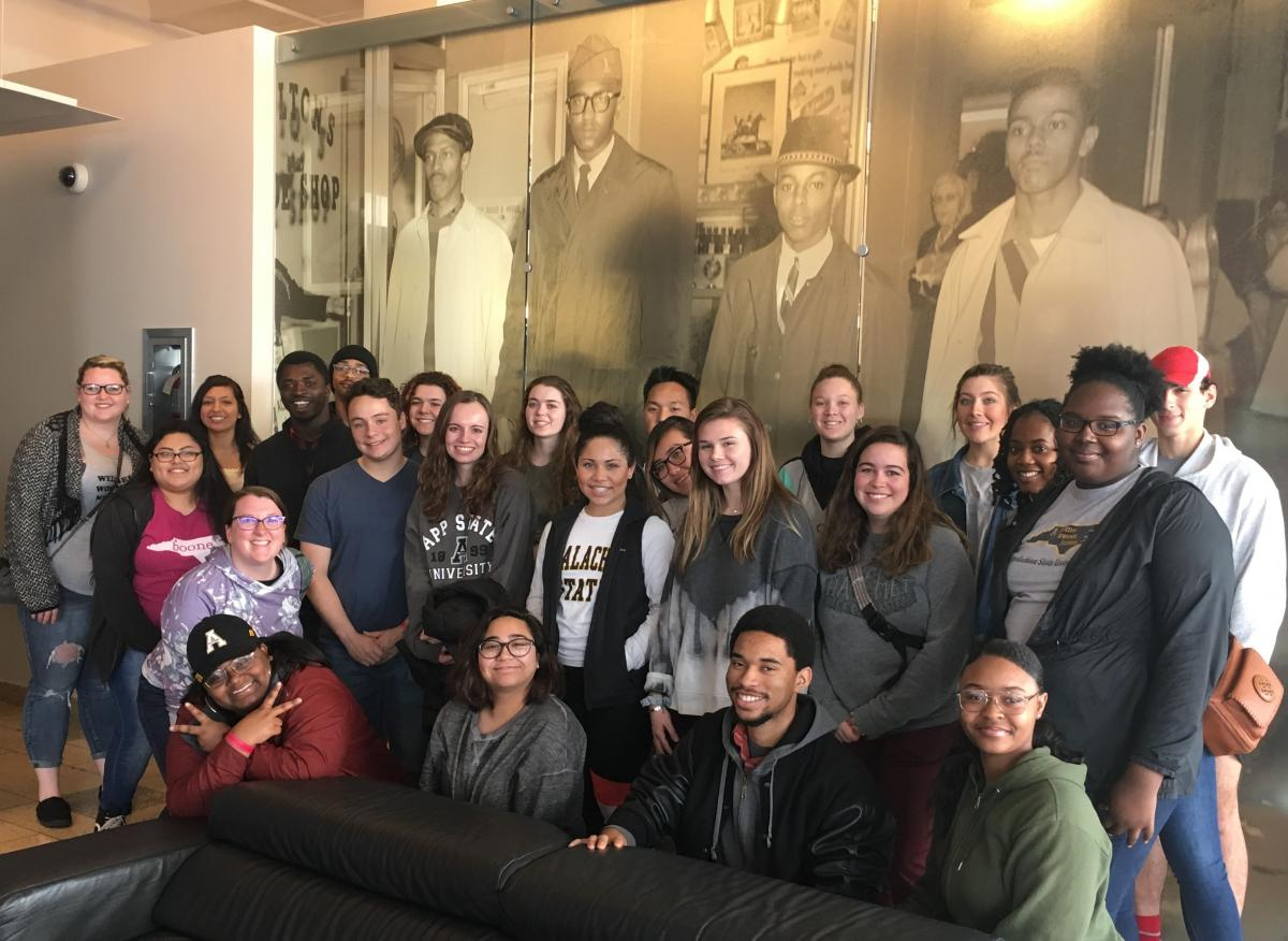 SSS civil right museum visit