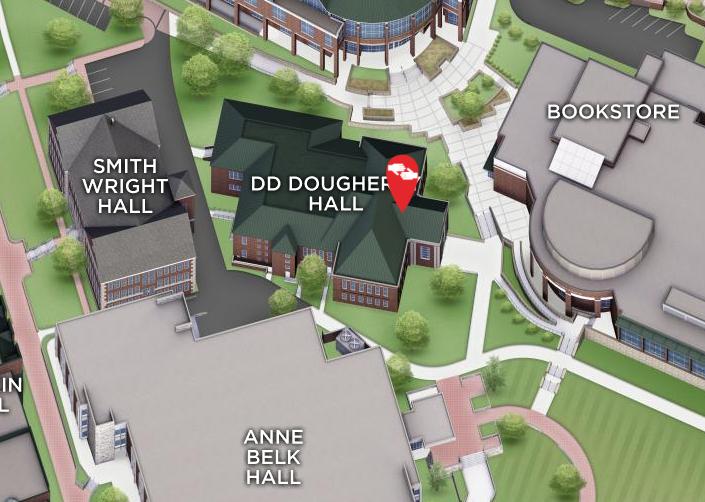 DD Dougherty in campus