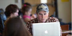 ASU Student studying